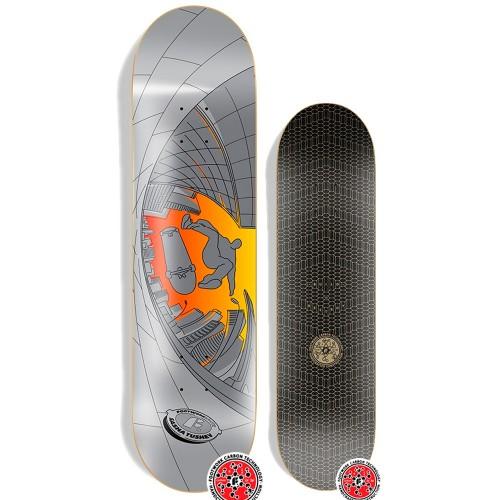 Дека для скейтборда Footwork Carbon Tushev Fisheye 8.25 x 31.75