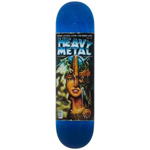 Дека для скейтборда Darkstar SS19 Lutzka Heavy Metal 2 R7 8.375 x 31.9