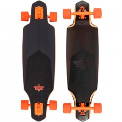 Dusters Channel Black Prism Longboard 34 Black