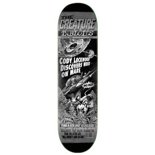 Дека для скейтборда Creature Lockwood Tabloid 8.2 x 31.9