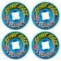 Комплект колес для скейтборда Santa Cruz Slime Balls Vomit Mini Blue 53 mm 97a