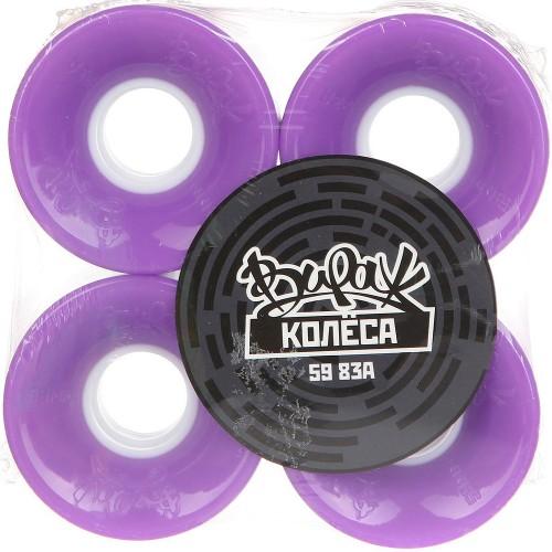 Колеса круизные Вираж Purple 59mm 78a