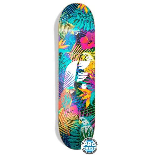 Дека для скейтборда Footwork Progress Tropical 8.125 x 31.625