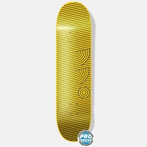 Дека Footwork Progress Stripes Gold 8.125 x 31.625