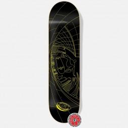 Дека Footwork Carbon Tushev Fisheye Yellow/Black 8.125 x 31.625 (УЦЕНКА)