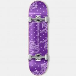 Скейтборд в сборе Footwork Bandana Purple 8 x 31.5