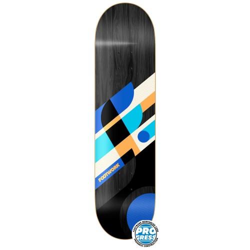 Дека для скейтборда Footwork Progress Wood Black 8 x 31.5
