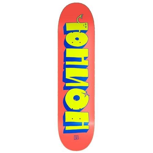 Дека для скейтборда Юнион Team Red/Yellow 8.5 x 32.5