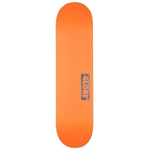 Дека для скейтборда Globe Goodstock Neon Orange 8.125 x 31.875