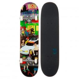 Скейтборд в сборе Юнион Megapolis 7.875 x 31.875