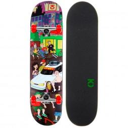 Скейтборд в сборе Юнион Megapolis Red 7.5 x 31.5