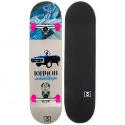 Скейтборд в сборе Юнион Toy Pink 7.875x31.5