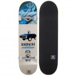 Скейтборд в сборе Юнион Toy White 7.875x31.5