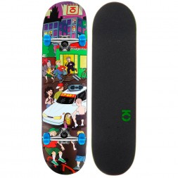 Скейтборд в сборе Юнион Megapolis Blue 7.5 x 31.5