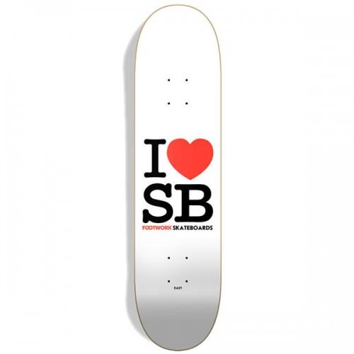 Дека Footwork Original I Love SB 8 x 31.6