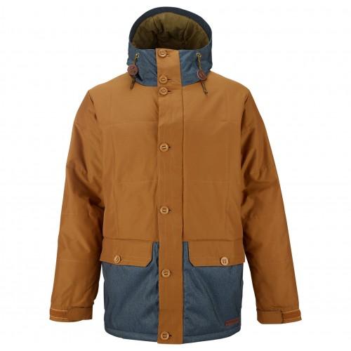 Куртка для сноуборда мужская Burton Nomad Jacket 14/15, true penny/denim