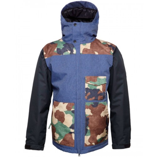 Куртка для сноуборда 686 Authentic Revert Jkt 14/15, indigo twill denim