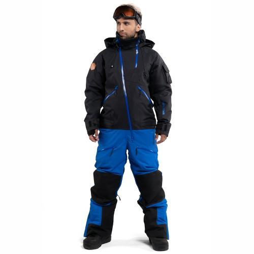 Комбинезон для сноуборда и лыж мужской Cool Zone Mens Kite 18/19, черный/синий