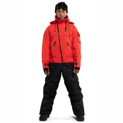 Комбинезон для сноуборда и лыж мужской Cool Zone Mens Kite 18/19, терракотовый/черный