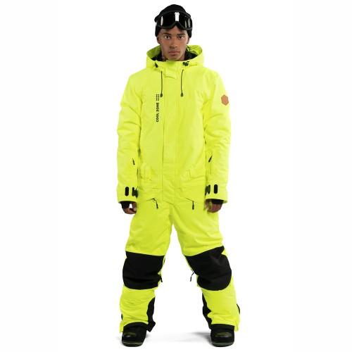 Комбинезон для сноуборда и лыж мужской Cool Zone Mens Snowman 18/19, салатовый