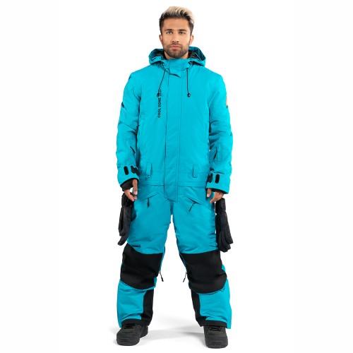Комбинезон для сноуборда и лыж мужской Cool Zone Mens Snowman 18/19, волна