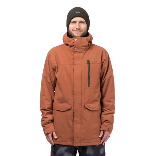 Куртка для сноуборда мужская Horsefeathers Hornet Jacket 18/19, copper