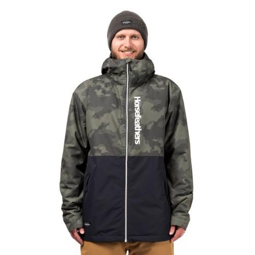 Куртка для сноуборда мужская Horsefeathers Dagger Jacket 18/19, cloud camo
