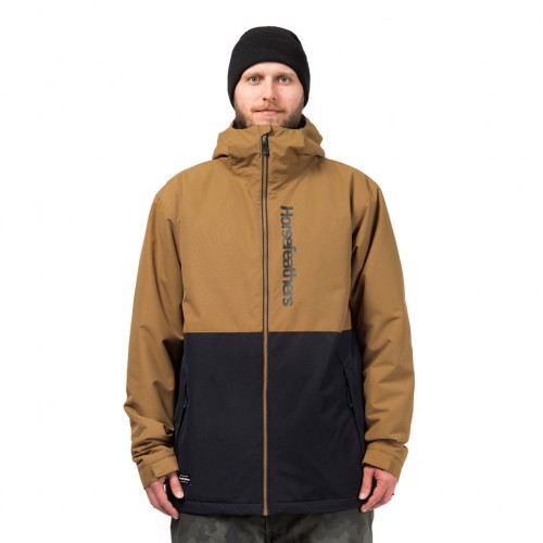 Куртка для сноуборда мужская Horsefeathers Dagger Jacket 18/19, cumin