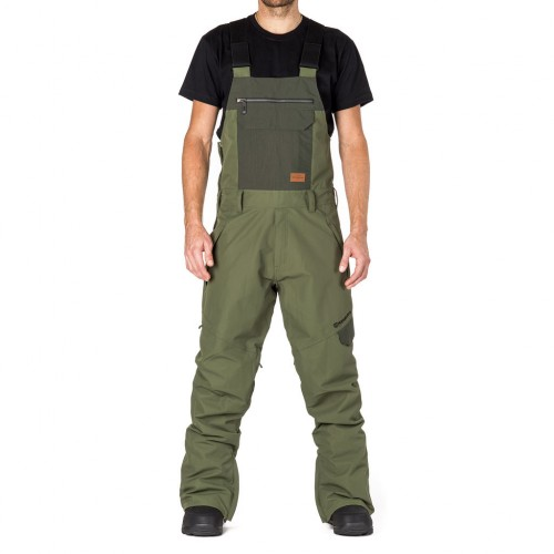 Штаны для сноуборда мужские Horsefeathers Huey Pants 18/19, cypress