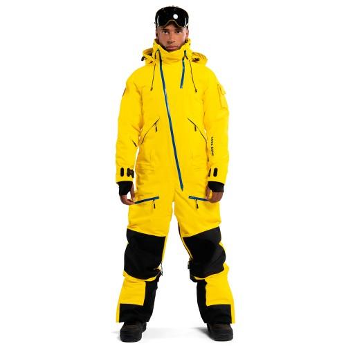 Комбинезон для сноуборда и лыж мужской Cool Zone Mens Kite 18/19, желтый