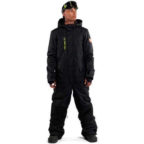 Комбинезон для сноуборда и лыж мужской Cool Zone Mens Snowman 18/19, черный