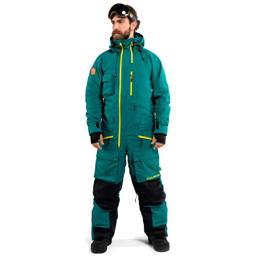 Комбинезон для сноуборда и лыж мужской Cool Zone Mens Snowmobile 18/19, болотный