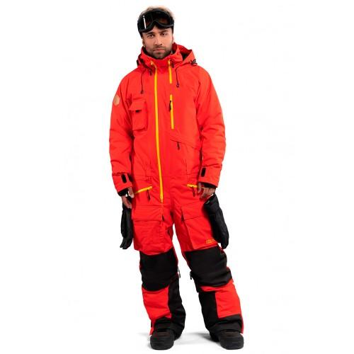 Комбинезон для сноуборда и лыж мужской Cool Zone Mens Snowmobile 18/19, терракотовый
