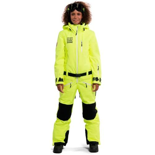 Комбинезон для сноуборда и лыж женский Cool Zone Womens Kite 18/19, салат/меланж