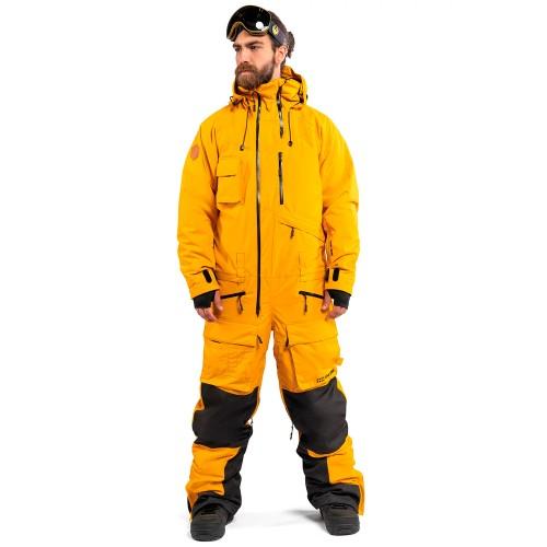 Комбинезон для сноуборда и лыж мужской Cool Zone Mens Snowmobile 18/19, горчичный