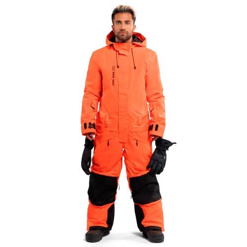 Комбинезон для сноуборда и лыж мужской Cool Zone Mens Snowman 18/19, оранжевый