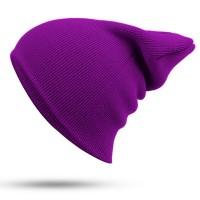 Blank Beanie Purple