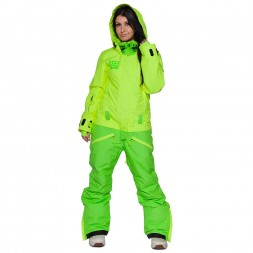 Cool Zone Womens Twin Melange 17/18, салат/лайм