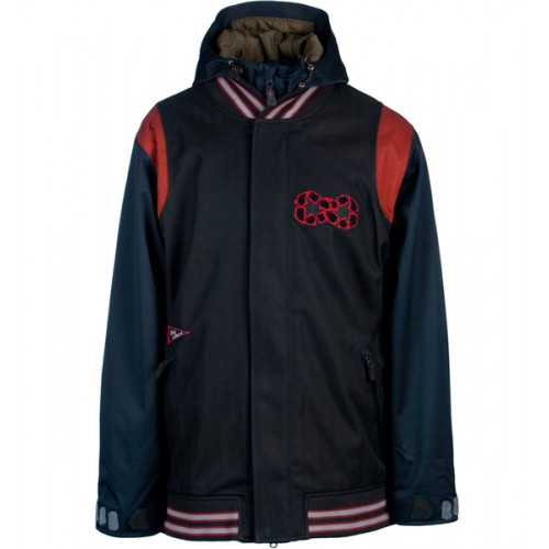 Куртка для сноуборда INI Cooperative Bench Warmer Jacket 14/15, black