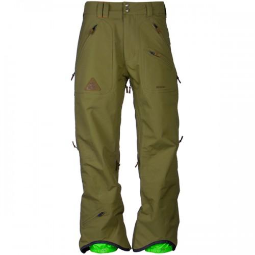 Штаны для сноуборда INI Cooperative Arch Pant 14/15, olive