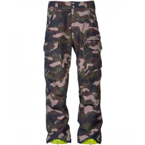 Штаны для сноуборда INI Cooperative Ranger Slim Pant 14/15, camo