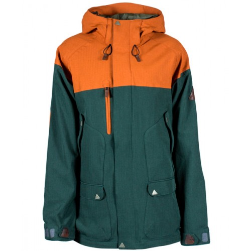 Куртка для сноуборда и лыж INI Caravan Jacket 15/16, green