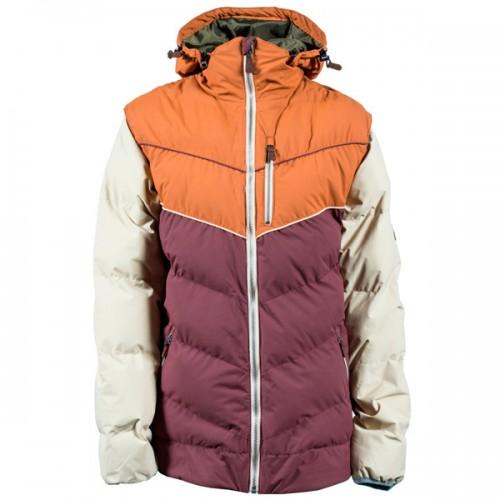 Пуховик для сноуборда и лыж INI Convert Jacket 15/16, brown