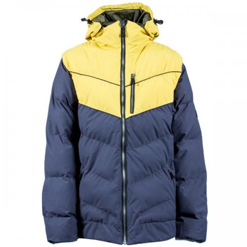 Пуховик для сноуборда и лыж INI Convert Jacket 15/16, charcoal