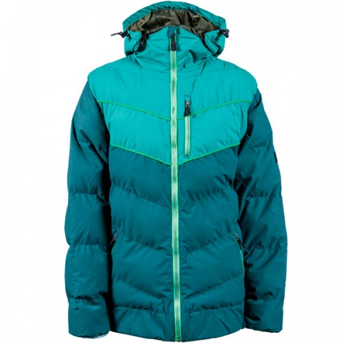 Пуховик для сноуборда и лыж INI Convert Jacket 15/16, green