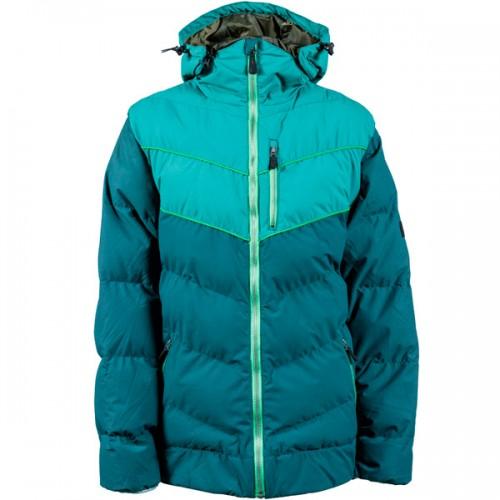 Пуховик для сноуборда и лыж INI Convert Jacket 15/16, green