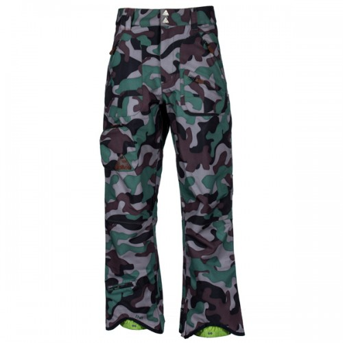 Штаны для сноуборда и лыж INI Expedition Pant 15/16, camo