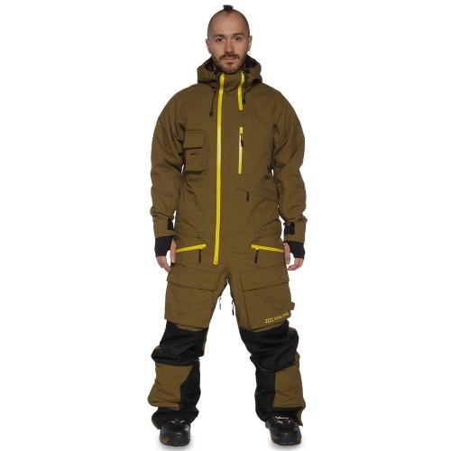 Комбинезон мужской Cool Zone Mens Snowmobile 17/18, темно-оливковый