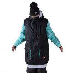 Утепленная куртка NM4 Transformer Black/Mint