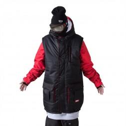 Утепленная куртка NM4 Transformer Black/Red